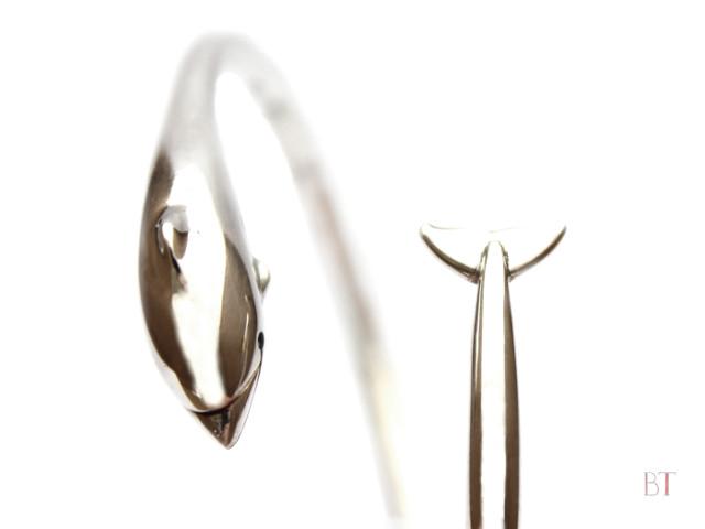 [Dolphin Bracelet] – Sterling Silver