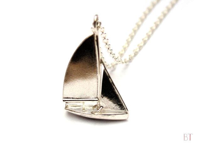 [Osprey Pendant] - Sterling Silver