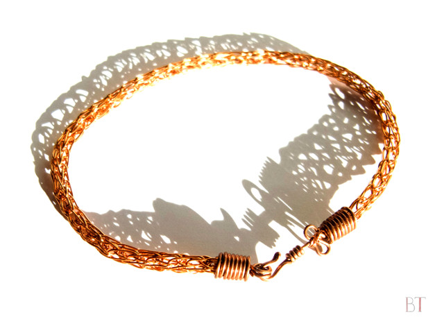 [Viking Knit Bracelet] – Copper