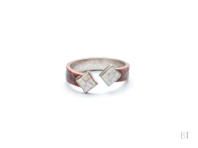 [Ancient Rings] – Sterling Silver, Copper