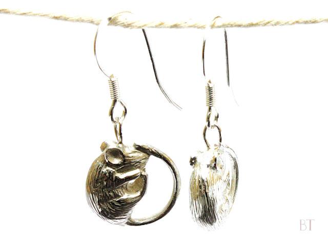 [Animal Earrings] – Sterling Silver