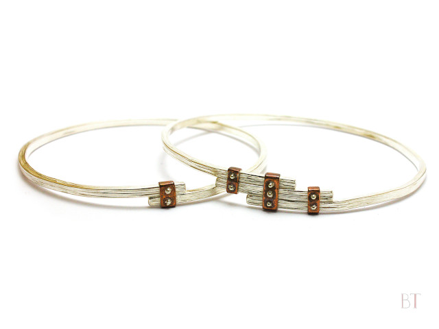 [Joist, Bangles and Rings] – Sterling Silver, Copper